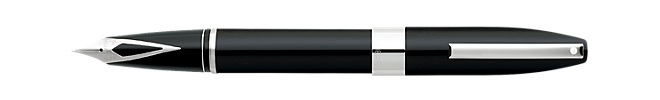Sheaffer® Legacy® Heritage Black Lacquer Fountain Pen featuring Palladium Plate Appointments