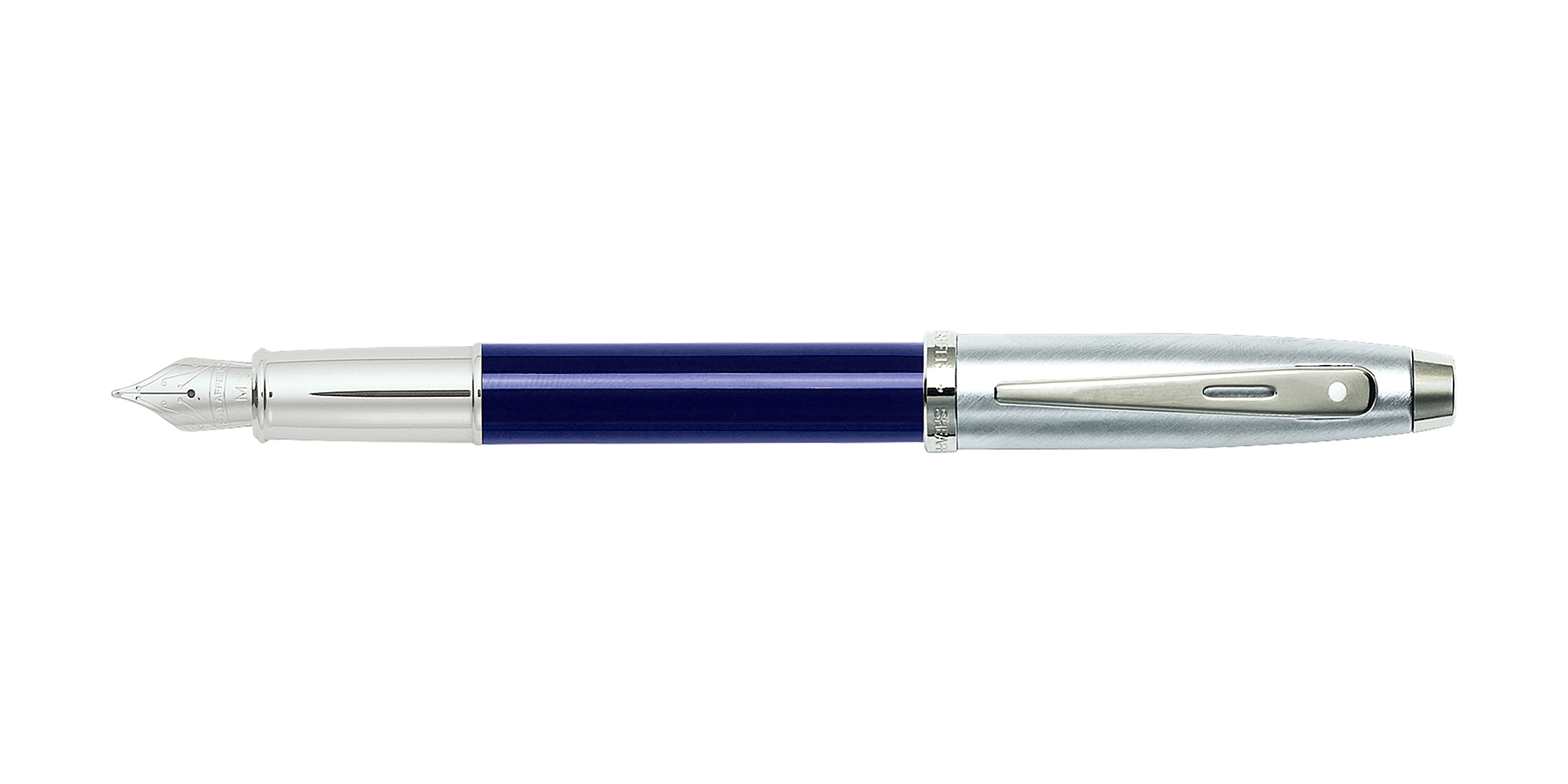 Cross Sheaffer® 100 Translucent Blue Fountain Pen Picture