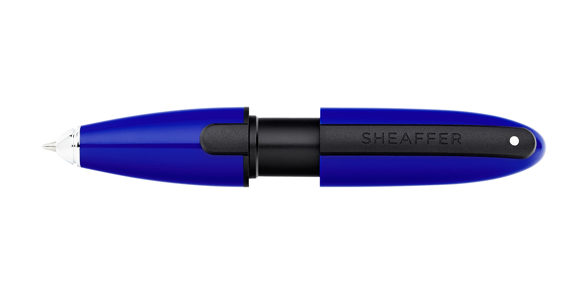 Cross Sheaffer Ion Blue Gel Rollerball Pen Picture