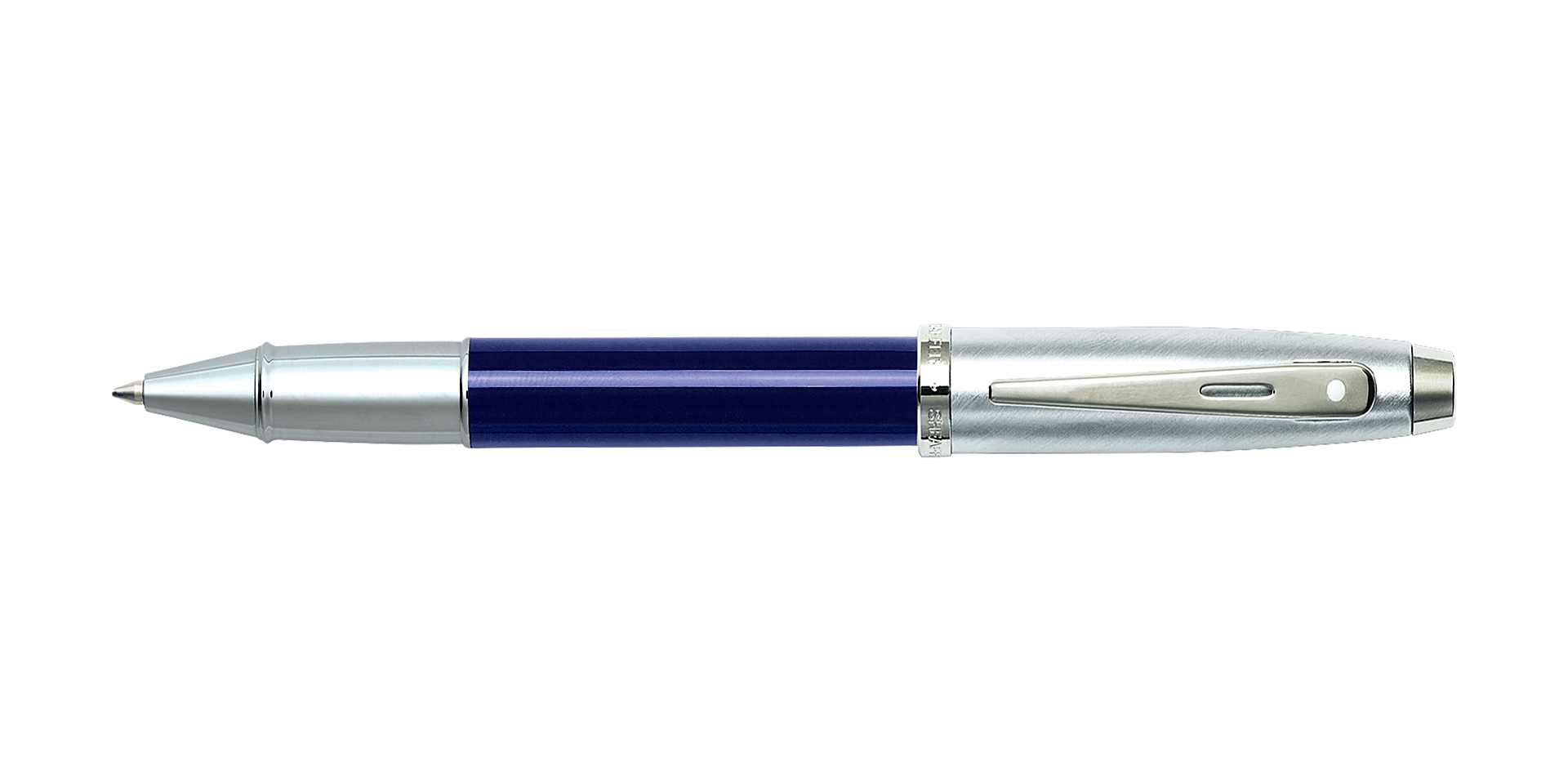 Cross Sheaffer® 100 Blue Translucent Barrel with Brushed Chrome Cap  ... Picture