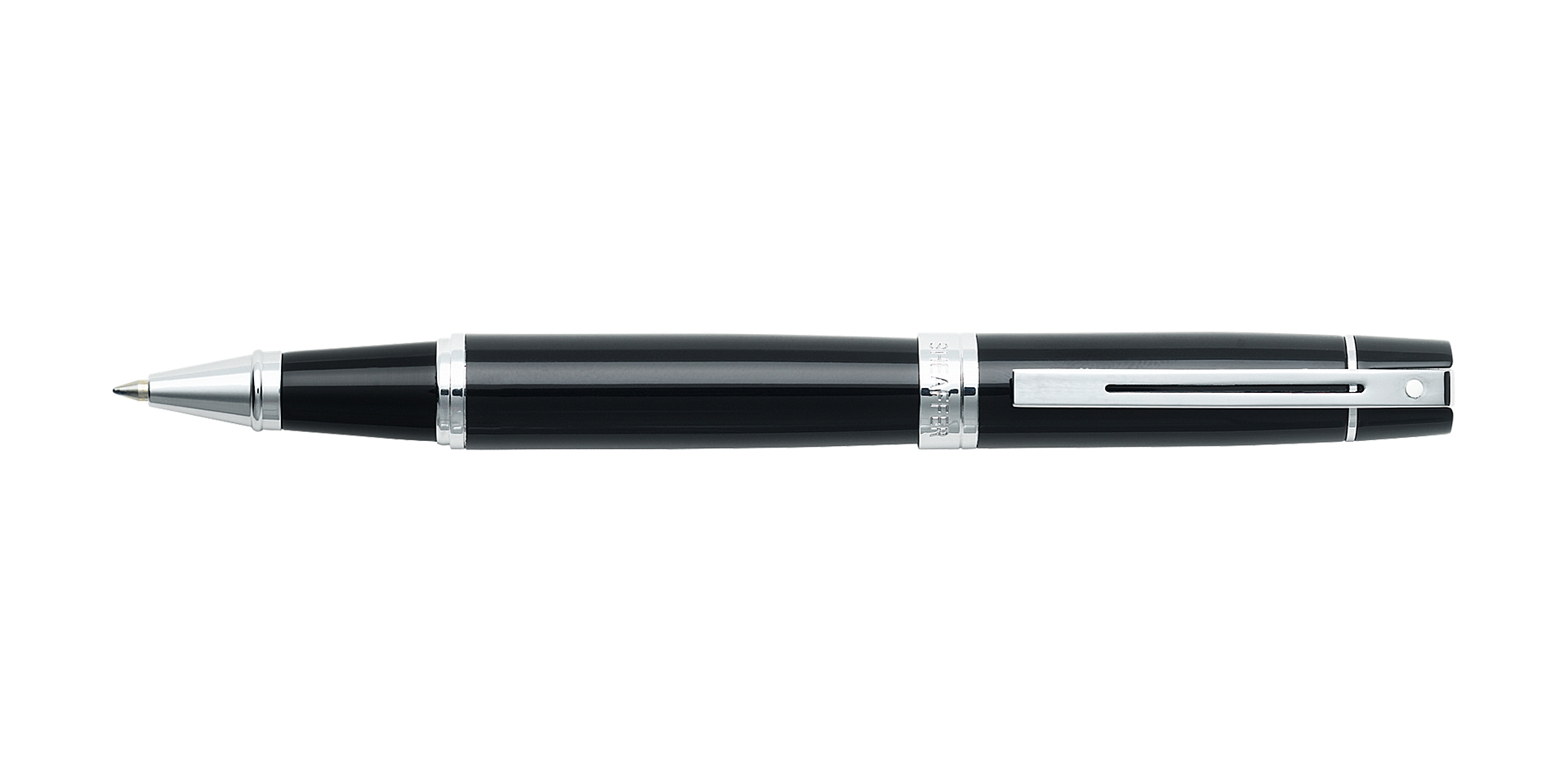 Cross Sheaffer® 300 Glossy Black Rollerball Pen Picture