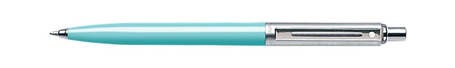 Sheaffer® Sentinel® Turquoise Barrel and Brushed Chrome Cap Ballpoint Pen