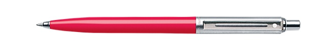 Sheaffer® Sentinel® Deep Pink Barrel and Brushed Chrome Cap Ballpoint Pen