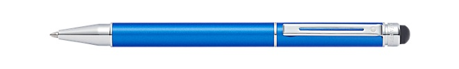 Sheaffer Switch Metallic Blue Ballpoint Pen & Stylus