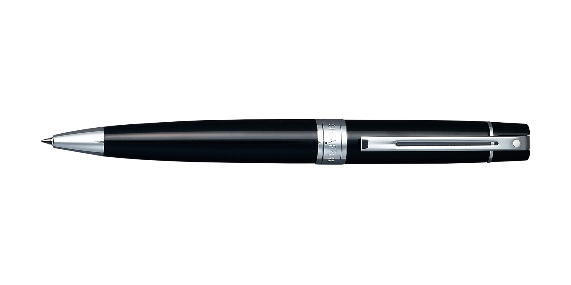 Cross Sheaffer 300 Glossy Black Ballpoint Pen Picture