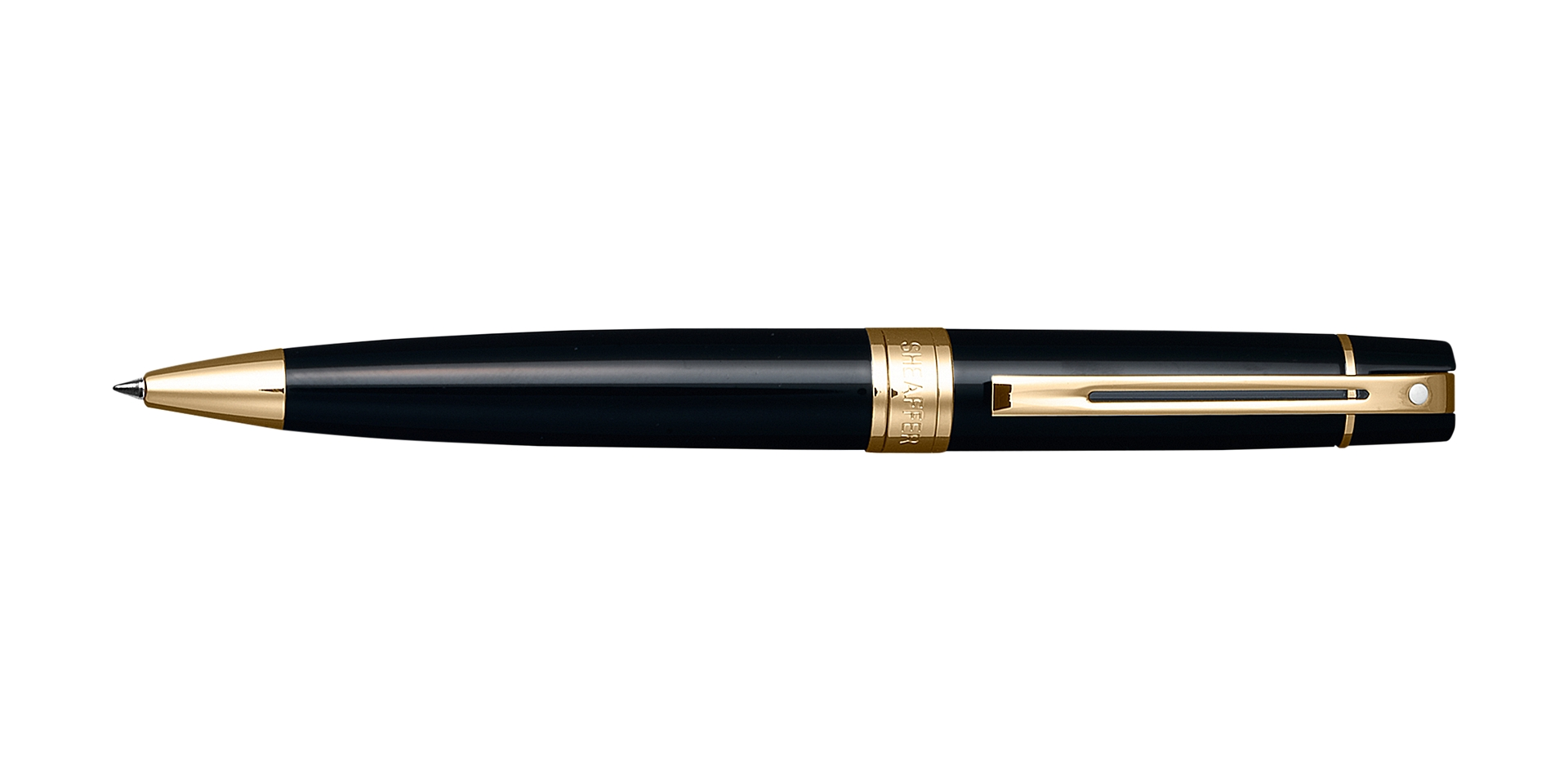 Cross Sheaffer 300 Black Ballpoint Pen Picture