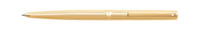 Sheaffer® Sagaris® Fluted Gold Tone Barrel and Cap Ballpoint Pen