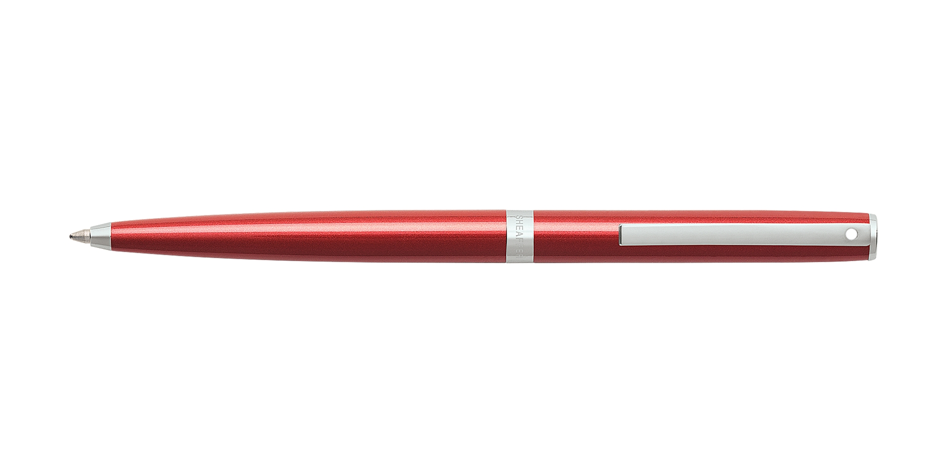 Cross Sheaffer Sagaris Metallic Red Ballpoint Pen Picture