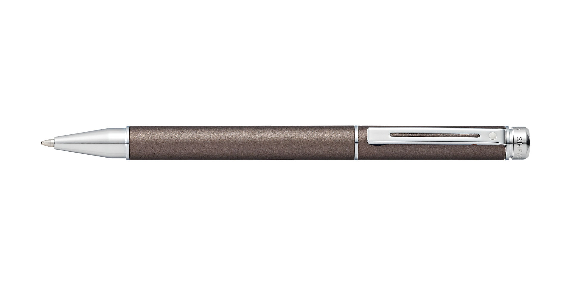 Cross Sheaffer 200 Matte Metallic Gray Ballpoint Pen Picture