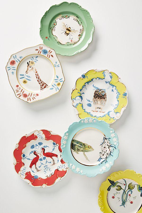Slide View: 3: Lou Rota Nature Table Dessert Plate