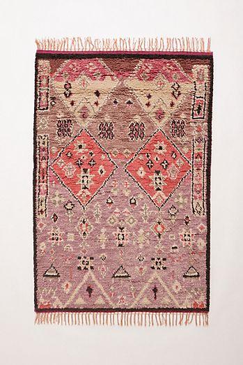Moroccan Cross Rug Anthropologie
