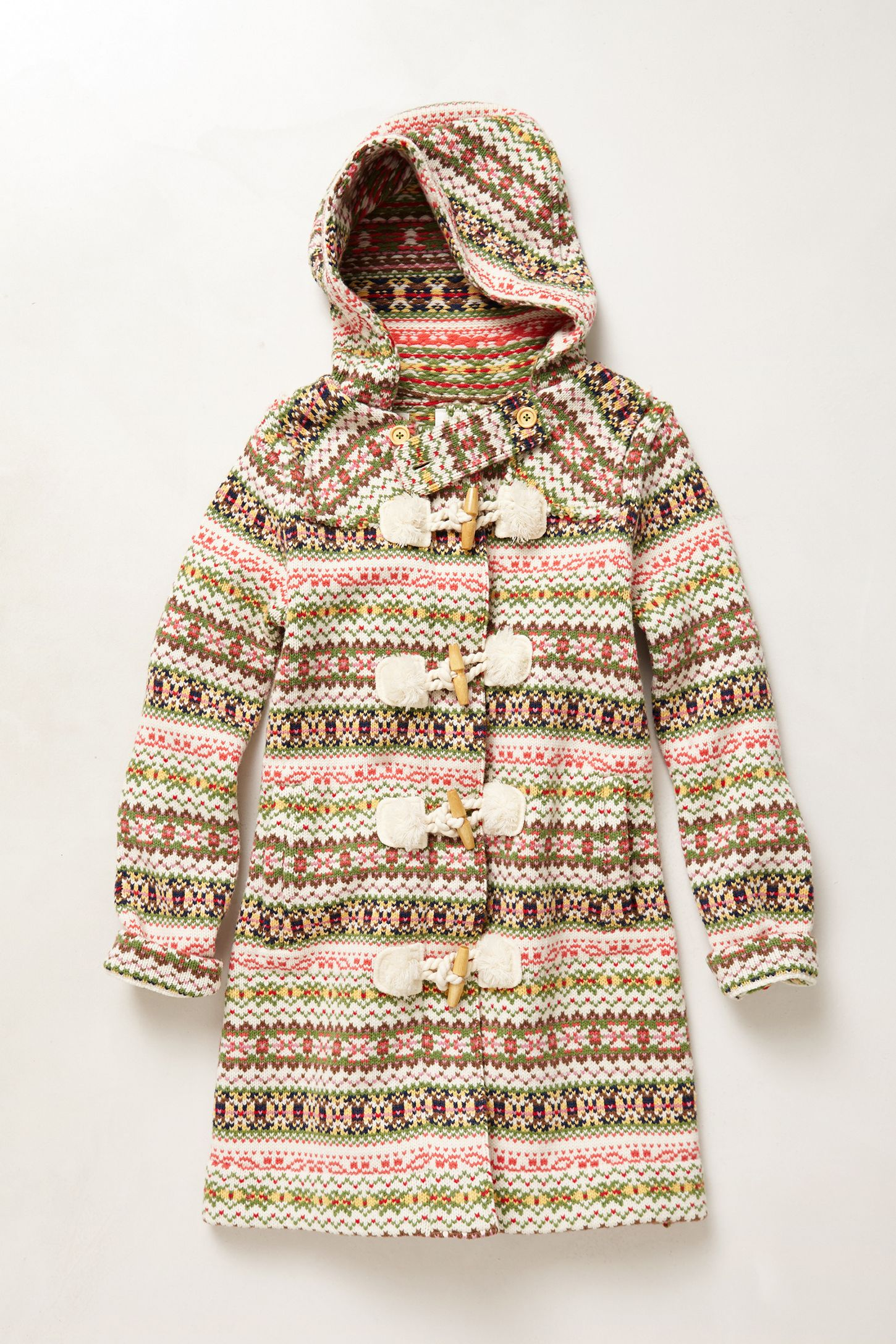 6a6414b676a Archival Collection  Fair Isle Sweater Coat