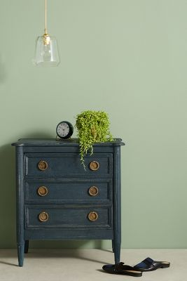 Washed Wood Nightstand Anthropologie