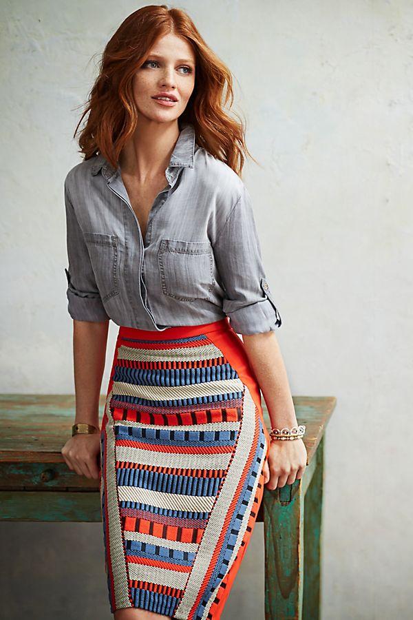 e7efae638 Saidia Pencil Skirt | Anthropologie