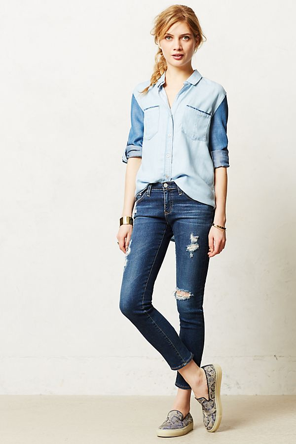 2b7cb8c40887 AG Stevie Ankle Jeans | Anthropologie