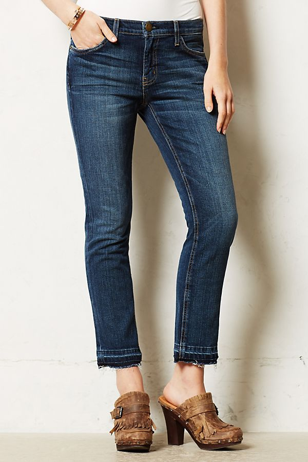 276b5f832c57e6 Current/Elliott Cropped Straight Jeans | Anthropologie