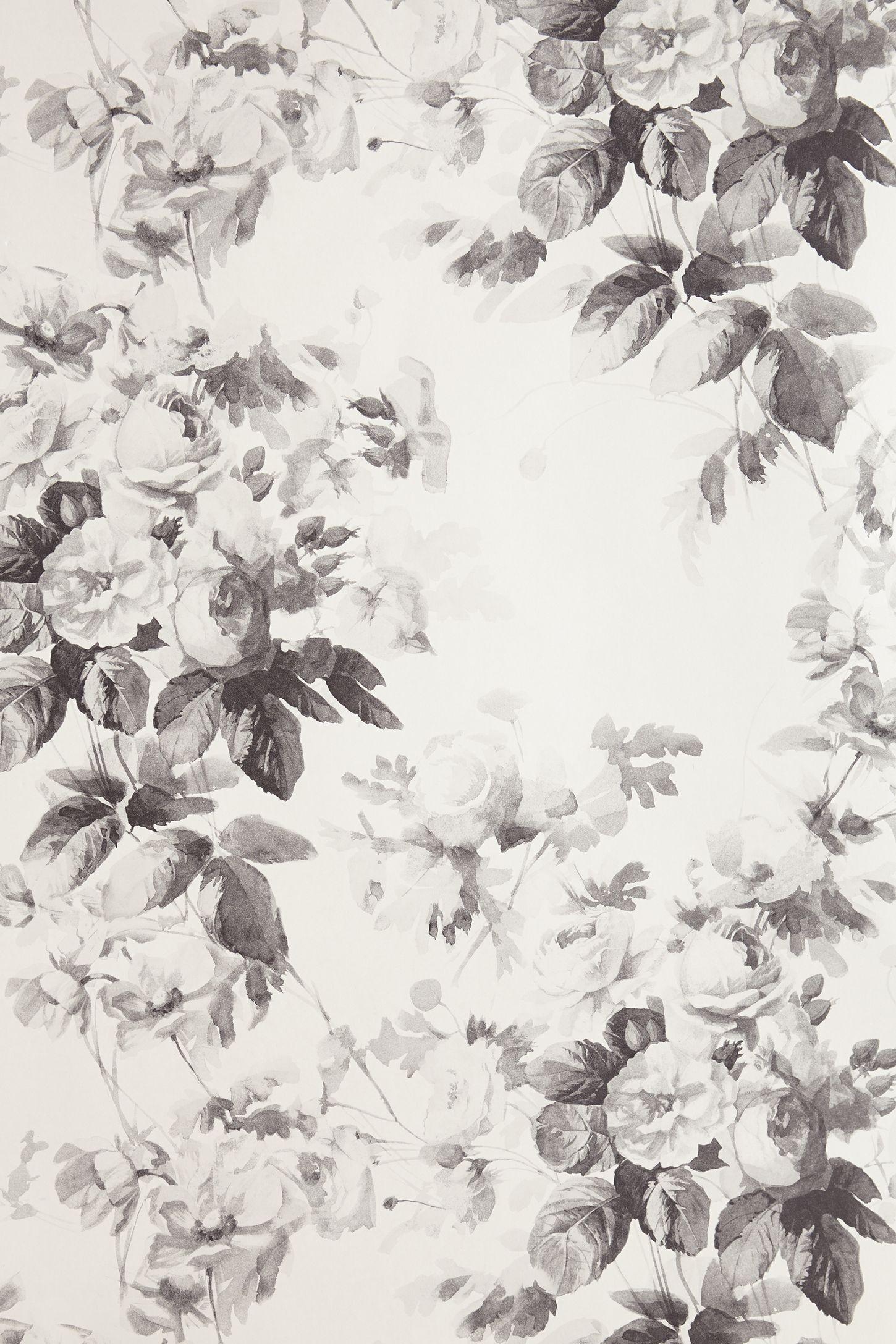 Slide View: 5: London Rose Wallpaper