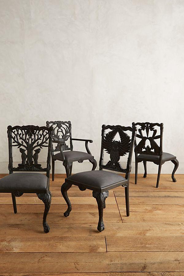 Outstanding Handcarved Menagerie Deer Armchair Anthropologie Unemploymentrelief Wooden Chair Designs For Living Room Unemploymentrelieforg