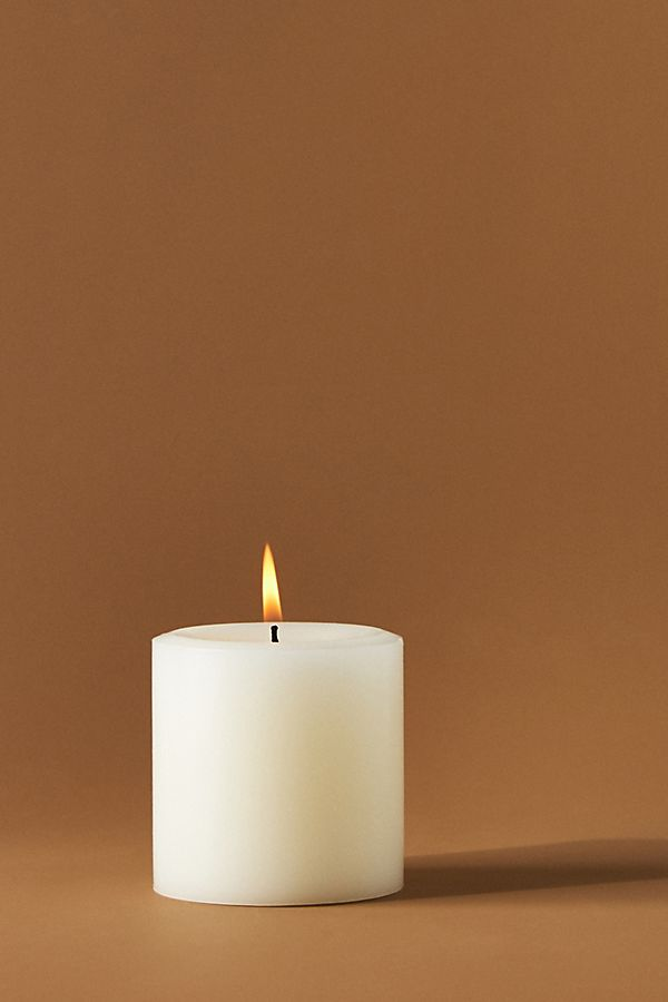 Slide View: 1: Capri Blue Pillar Candle