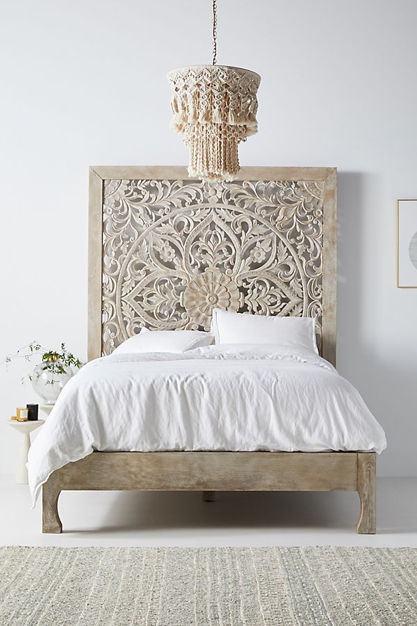 Slide View: 1: Handcarved Lombok Bed
