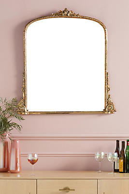 Gleaming Primrose Mirror by Anthropologie