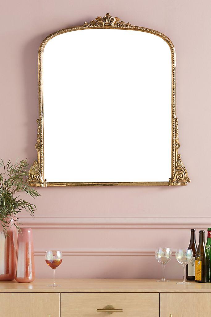 Gleaming Primrose Mirror Anthropologie