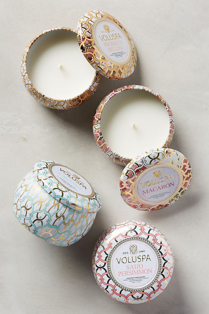 Voluspa Maison Blanc Mini Candle