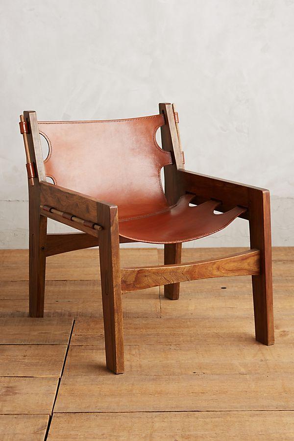 Stupendous Leather Sling Chair Uwap Interior Chair Design Uwaporg