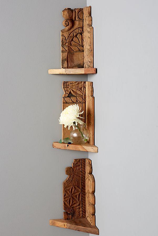 Excellent Salvaged Wood Corner Shelf Download Free Architecture Designs Itiscsunscenecom