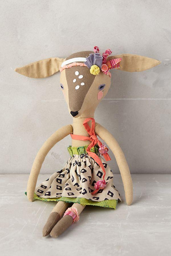 e09e3177f6 Fashionable Fauna Doll | Anthropologie