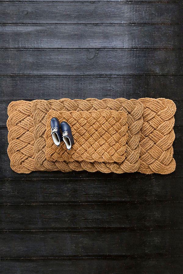 Slide View: 1: Knot Weave Doormat