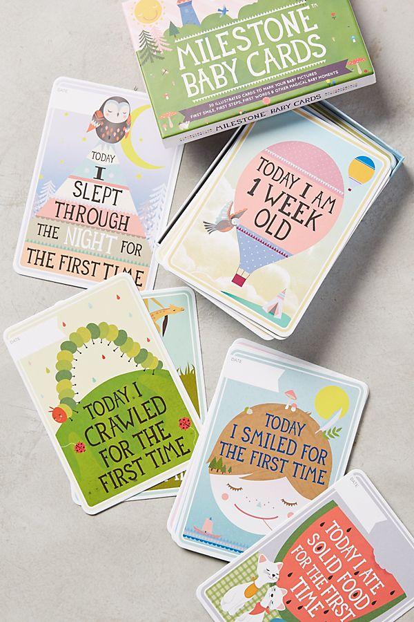 18f621cb587 Slide View  1  Milestone Baby Cards