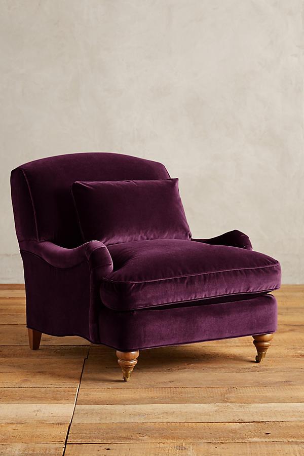 Velvet Glenlee Chair Landon Anthropologie