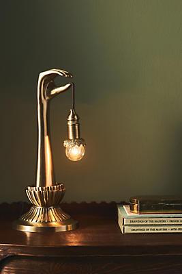 Lightbearer Table Lamp by Anthropologie