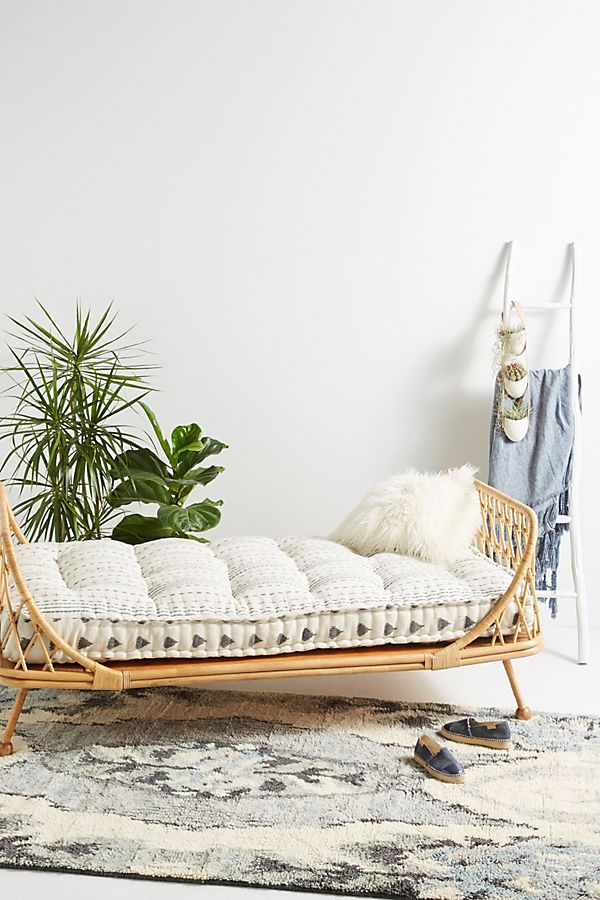 Day Bed.Pari Rattan Daybed