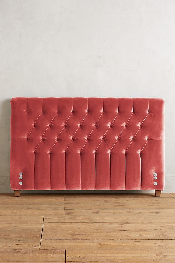 buy popular 2f1b2 c1e63 Velvet Tufted Lena Headboard