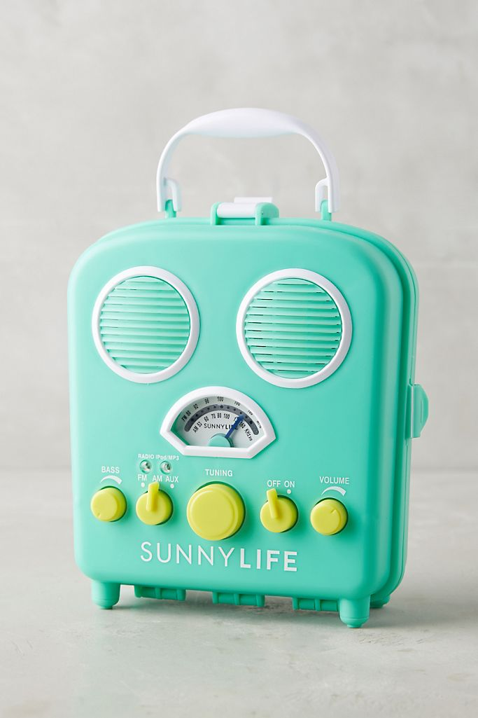 Sunny Life Beach Radio Anthropologie