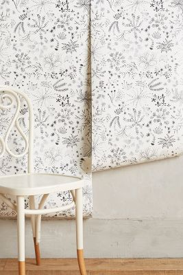 Shop Anthropologie Meadowfield Wallpaper from Anthropologie on Openhaus