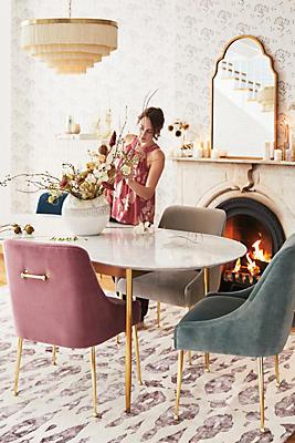 Slide View: 8: Velvet Elowen Chair