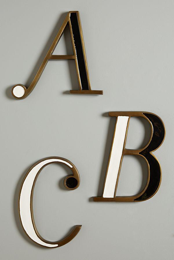 Hanging Monogram Letter