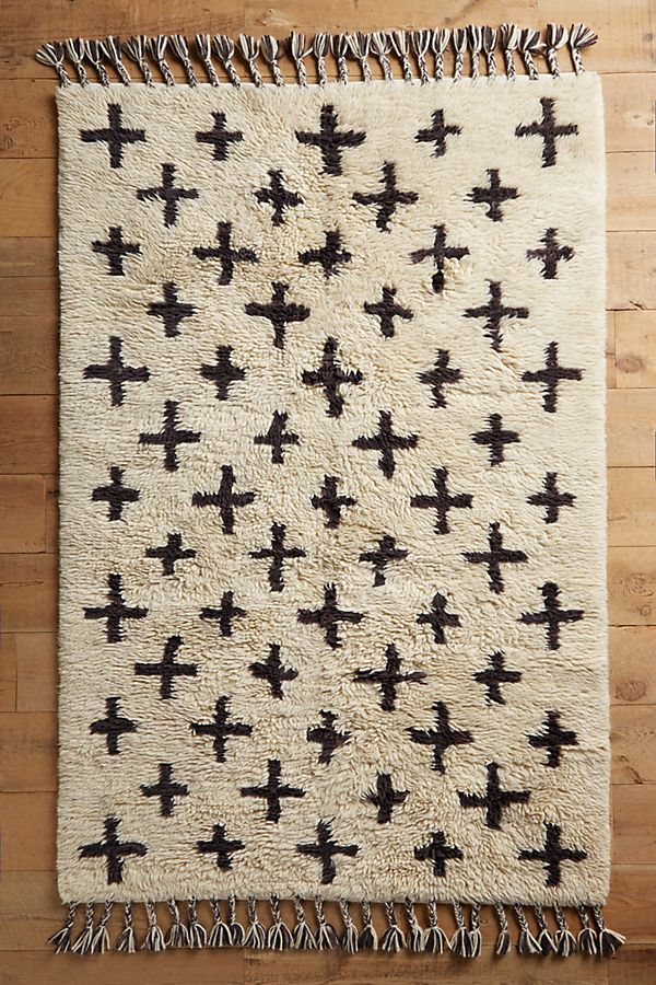 Slide View 1 Moroccan Cross Rug