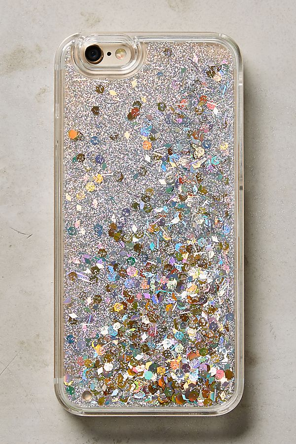 competitive price 20597 23705 Floating Glitter iPhone 6 & 6 Plus Case