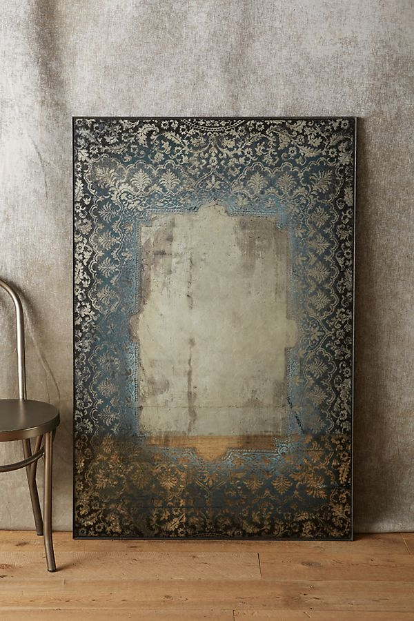 Dissolved Lace Mirror Anthropologie