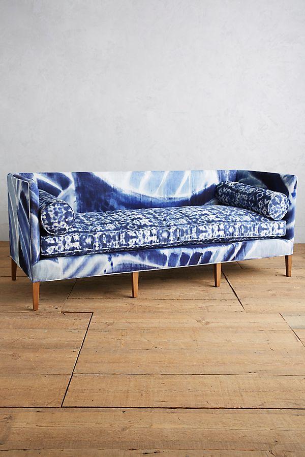 Super Shibori Printed Harper Sofa Beatyapartments Chair Design Images Beatyapartmentscom