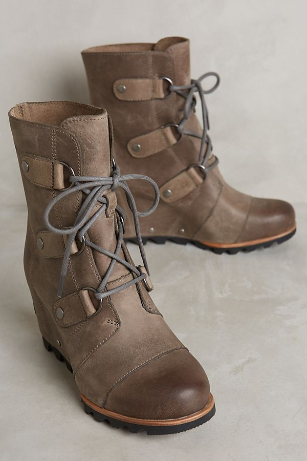 0d40e0666e2 Sorel Joan of Arctic Wedge Ankle Boots