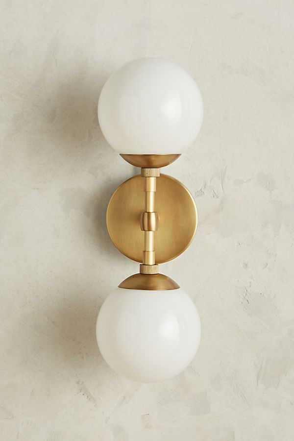 Slide View: 2: Double Perryman Sconce