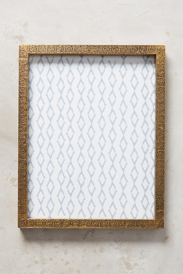 Slide View: 3: Brass Intaglio Frame