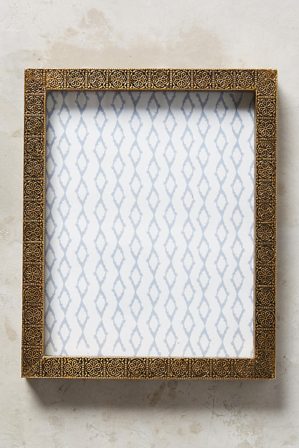 Slide View: 4: Brass Intaglio Frame