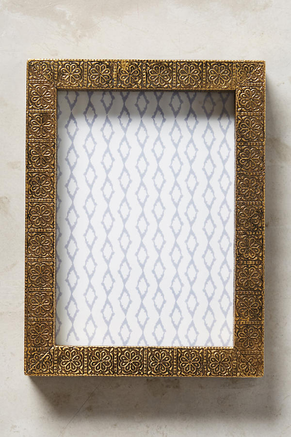 Slide View: 5: Brass Intaglio Frame