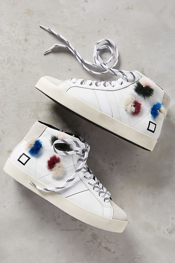 online store 2077d 9a77f D.A.T.E. Hill High Pop Sneakers